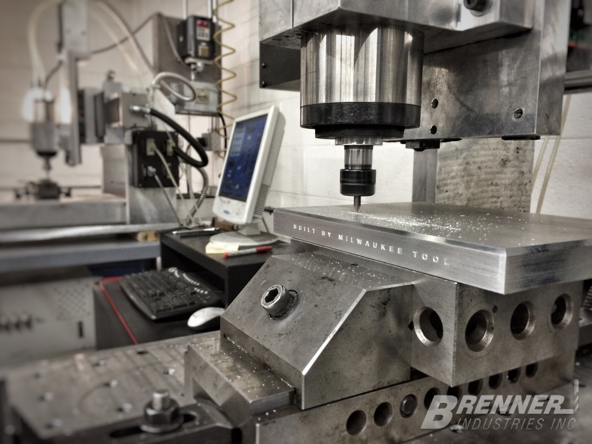 Brenner Industries Milwaukee Wisconsin Engravers Rotary CNC engrave corporate award